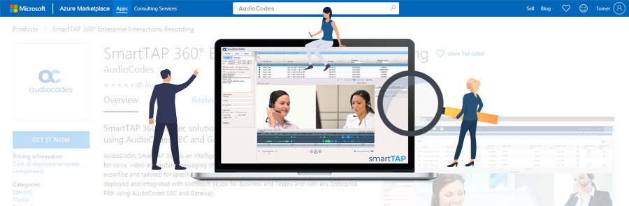 SmartTAP-360-in-Azure-Marketplace-get-your-enterprise-iInteractions-recording-trial-up-and-running