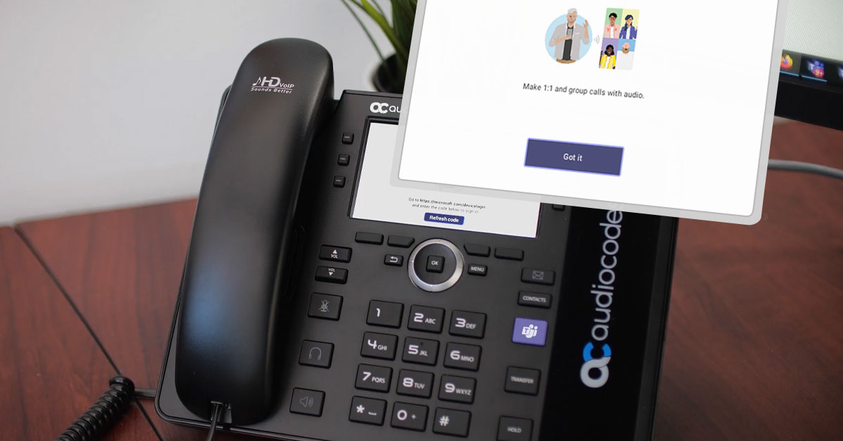 Video Blog   Signing In to Microsoft Teams Native Devices the Quick Way